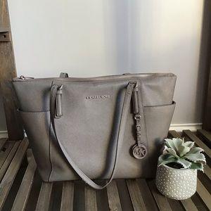 Micheal Korea's Gray Shoulder Bag